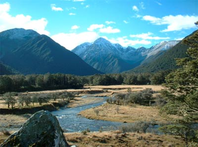 St James walkway, north west South Island of New Zealand